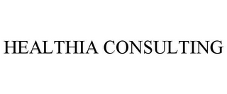 mark for HEALTHIA CONSULTING, trademark #78695484