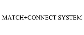 mark for MATCH+CONNECT SYSTEM, trademark #78696216