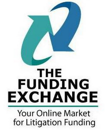 mark for THE FUNDING EXCHANGE YOUR ONLINE MARKET FOR LITIGATION FUNDING, trademark #78696794