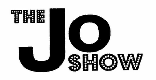 mark for THE JO SHOW, trademark #78696939