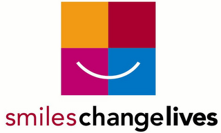 mark for SMILESCHANGELIVES, trademark #78697286