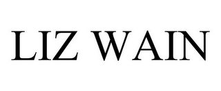 mark for LIZ WAIN, trademark #78697577