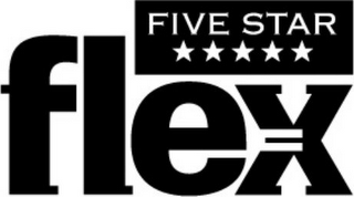 mark for FIVE STAR FLEX, trademark #78697979