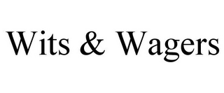 mark for WITS & WAGERS, trademark #78698531