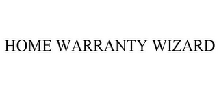mark for HOME WARRANTY WIZARD, trademark #78699488