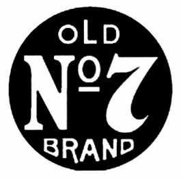 mark for OLD NO 7 BRAND, trademark #78699523