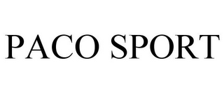 mark for PACO SPORT, trademark #78699804