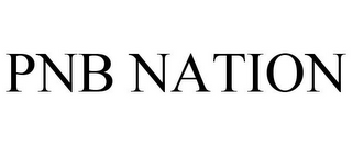 mark for PNB NATION, trademark #78700389