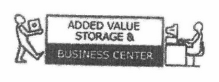 mark for ADDED VALUE STORAGE & BUSINESS CENTER, trademark #78700438