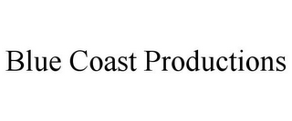 mark for BLUE COAST PRODUCTIONS, trademark #78701924