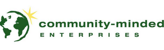 mark for COMMUNITY-MINDED ENTERPRISES, trademark #78703254
