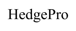 mark for HEDGEPRO, trademark #78703561