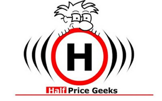 mark for H HALF PRICE GEEKS, trademark #78703889
