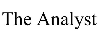 mark for THE ANALYST, trademark #78705551
