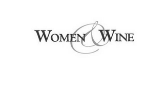 mark for WOMEN & WINE, trademark #78705727
