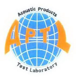 mark for APTL ACOUSTIC PRODUCTS TEST LABORATORY, trademark #78708570
