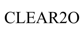 mark for CLEAR2O, trademark #78711118