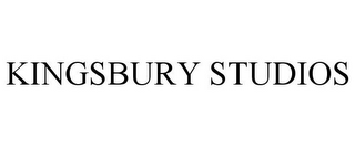 mark for KINGSBURY STUDIOS, trademark #78711436