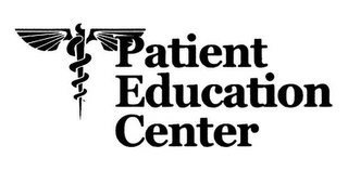 mark for PATIENT EDUCATION CENTER, trademark #78711672