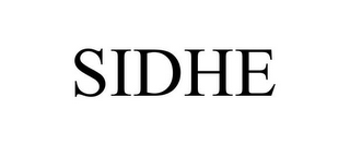 mark for SIDHE, trademark #78711798