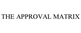 mark for THE APPROVAL MATRIX, trademark #78711847