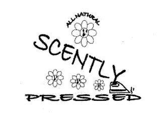 mark for SCENTLY PRESSED ALL NATURAL, trademark #78711868