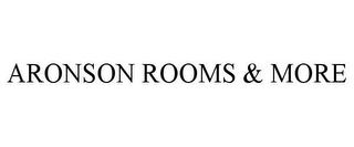 mark for ARONSON ROOMS & MORE, trademark #78712700