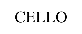 mark for CELLO, trademark #78712764