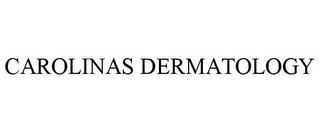 mark for CAROLINAS DERMATOLOGY, trademark #78713503