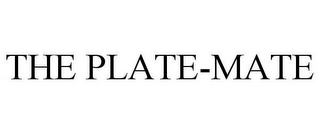 mark for THE PLATE-MATE, trademark #78713801