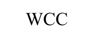 mark for WCC, trademark #78714096