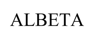 mark for ALBETA, trademark #78714584