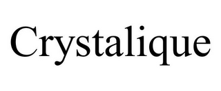 mark for CRYSTALIQUE, trademark #78715226