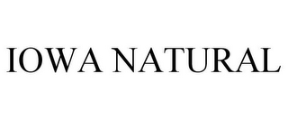mark for IOWA NATURAL, trademark #78716611