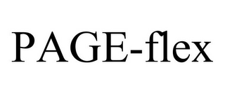mark for PAGE-FLEX, trademark #78716848