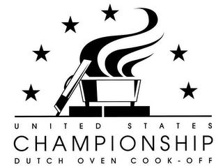 mark for UNITED STATES CHAMPIONSHIP DUTCH OVEN COOK-OFF, trademark #78717506