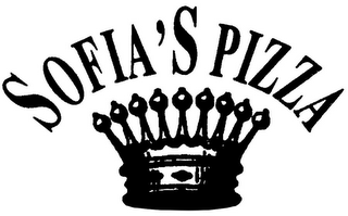 mark for SOFIA'S PIZZA, trademark #78718007