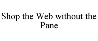 mark for SHOP THE WEB WITHOUT THE PANE, trademark #78718813