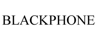 mark for BLACKPHONE, trademark #78721369