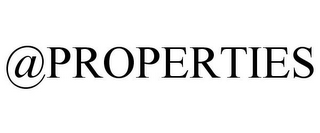 mark for @PROPERTIES, trademark #78721527