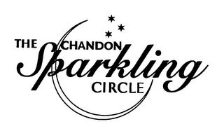mark for THE CHANDON SPARKLING CIRCLE, trademark #78721560