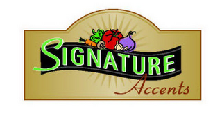 mark for SIGNATURE ACCENTS, trademark #78721637