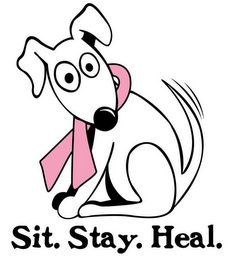 mark for SIT. STAY. HEAL., trademark #78722004