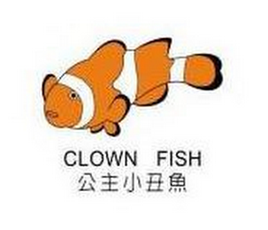 mark for CLOWN FISH, trademark #78722307