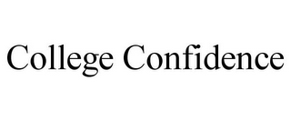 mark for COLLEGE CONFIDENCE, trademark #78723048