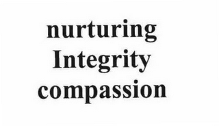 mark for NURTURING INTEGRITY COMPASSION, trademark #78723502