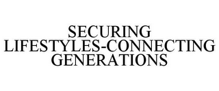 mark for SECURING LIFESTYLES-CONNECTING GENERATIONS, trademark #78723550