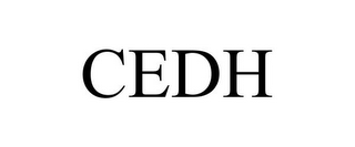 mark for CEDH, trademark #78724276