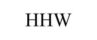 mark for HHW, trademark #78725764