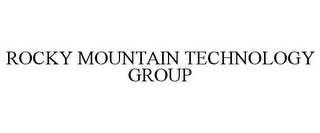mark for ROCKY MOUNTAIN TECHNOLOGY GROUP, trademark #78726580
